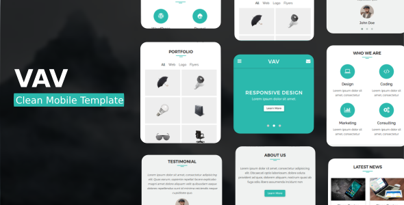 VAV - Clean Mobile Template            TFx Laverne Dee