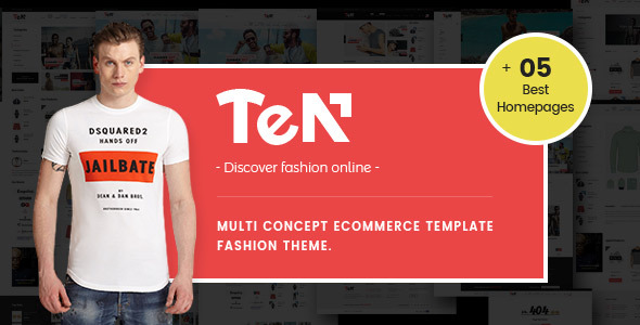 Ves Ten - Magento 2.2 Theme Fashion            TFx Bademus Bentley