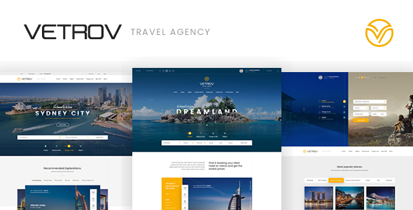 Vetrov - Hotels, Tours & Travel HTML Template            TFx Marshal Tiriaq