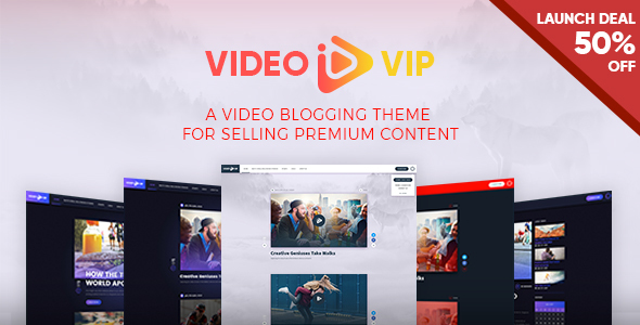 VideoVip - Premium Video Content WordPress Theme            TFx Gall Tarou