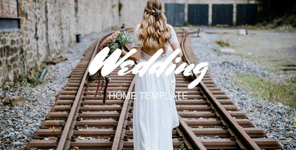 Wedding Home  - eCommerce PSD Template            TFx Paulie Madison