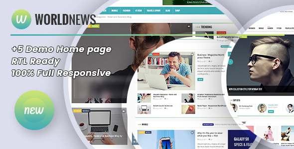 WorldNews - BlogMagazine HTML Template            TFx Thurstan Jae