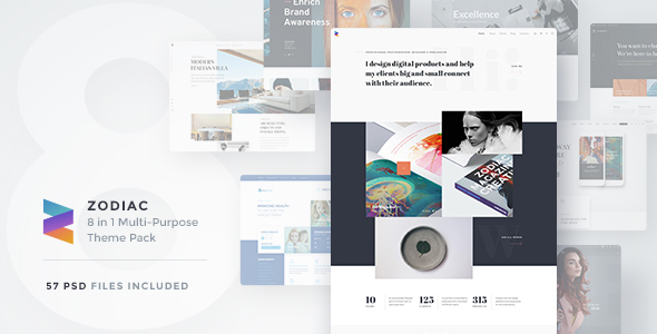 Zodiac | Multi-Purpose PSD Template            TFx Clifton Windsor