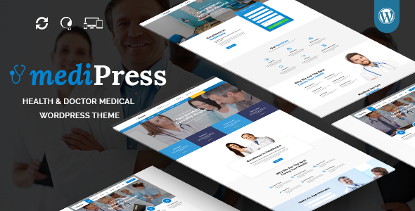 mediPress - Health and Doctor Medical WordPress Theme            TFx Hagop Farran