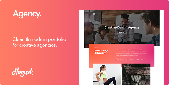 Agency – Creative HTML Template            TFx Booker Vedastus