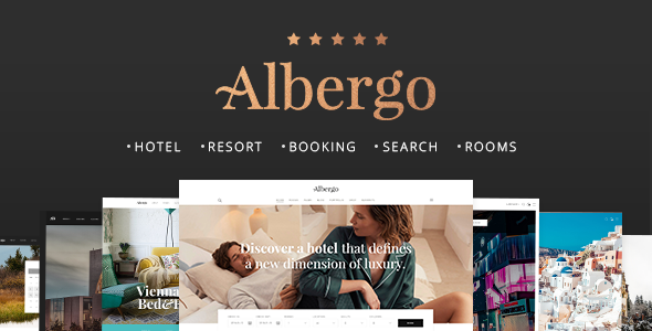 Albergo – A Modern Hotel and Accommodation Booking Theme            TFx Claude Louis