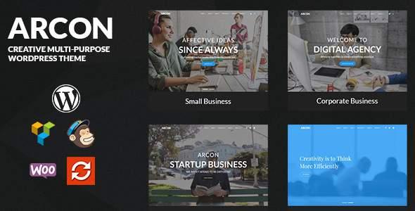 Arcon - Creative Multi-Purpose WordPress Theme            TFx Miles Akio