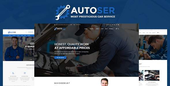 AutoService - Car Repair and Car Service            TFx Reilly Rigby