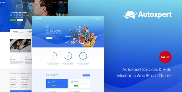 AutoXpert - A Car Repair Services & Auto Mechanics WordPress Theme            TFx Justin Hachirou