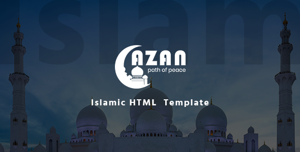 Azan – Islamic Center Responsive HTML Template            TFx Brion Harold