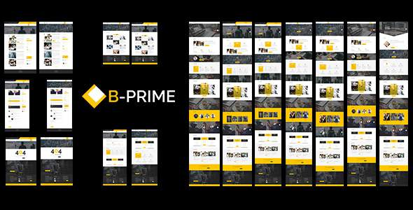BPRIME- Multipurpose Business Template            TFx Drogo Christian