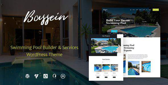 Bassein | Swimming Pool Service WP Theme            TFx Takuya Yori
