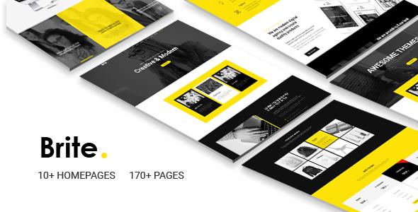 Brite | Responsive Multi-Purpose HTML5 Template | Business            TFx Mahatma Al