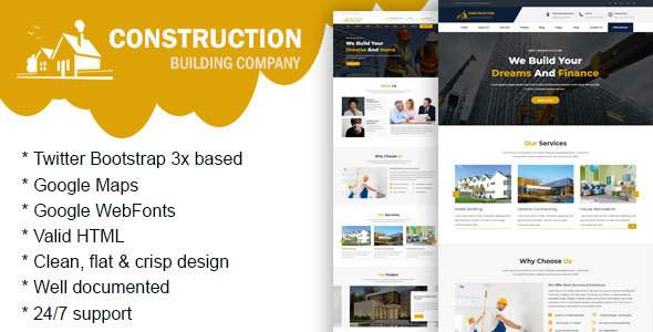 Construction - Construction Building Company            TFx Emmerson Virgil