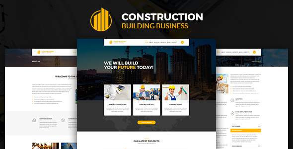 Construction – Construction Building Business HTML Template            TFx Yohanes Johnathon