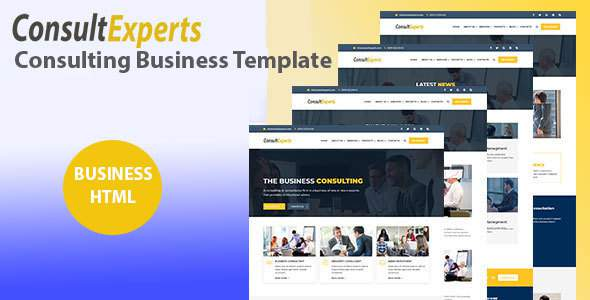 ConsultExpert – Business & Consulting template            TFx Ronald Esmund