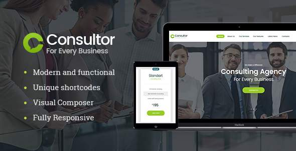 Consultor | Business Consulting WordPress Theme            TFx Ehecatl Zeph