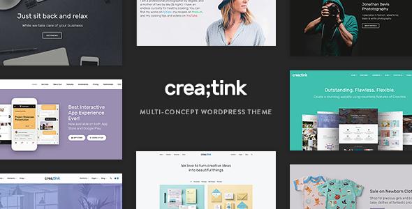 Creatink - Multi-Concept Responsive WordPress Theme            TFx Yancy Akira