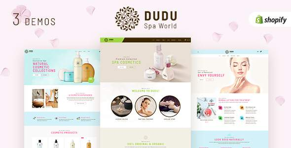 DUDU - Beauty Cosmetics Sectioned Shopify Theme            TFx Cyrus Ryker