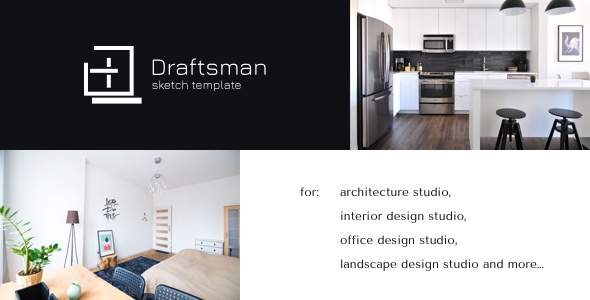 Draftsman - Architecture and Interior Sketch Template            TFx Ren Wilt