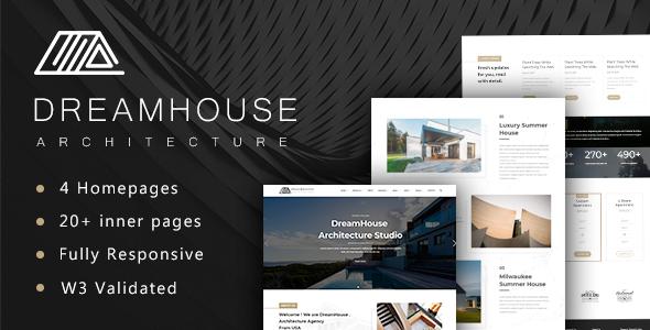 Dreamhouse - Architecture & Interior Design Template            TFx Darnell Sage