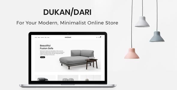 Dukandari - A Modern, Minimalist eCommerce Theme            TFx Spartacus Tracey