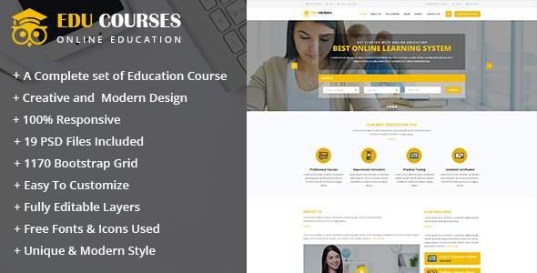 Edu Course Html Template            TFx Kaito Leonardo