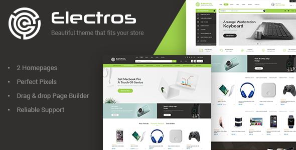 Electros - Electronics Store Shopify Theme            TFx Emerson Oz