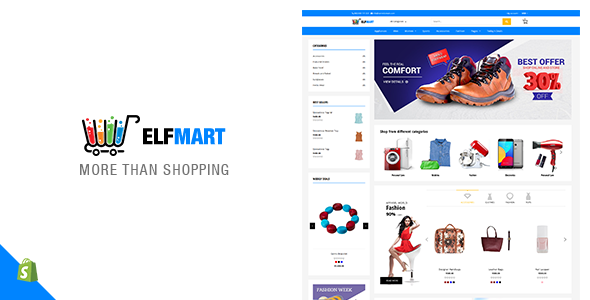 Elfmart - Multipurpose Shopify Theme            TFx Graeme Dashiell