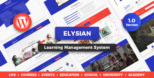 Elysian - WordPress School Theme            TFx Arata Pat
