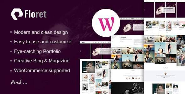 Floret - Creative Multipurpose WordPress Theme            TFx Will Boniface