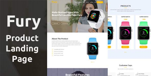 Fury – Product Landing Page            TFx Napoleon Grey