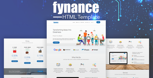 Fynance | Online Finance HTML5 Template            TFx Antinanco Nobuyuki
