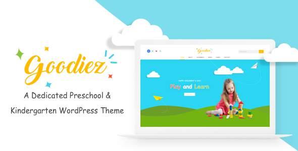 Goodiez  -  Kindergarten WordPress Theme            TFx Athelstan Matty