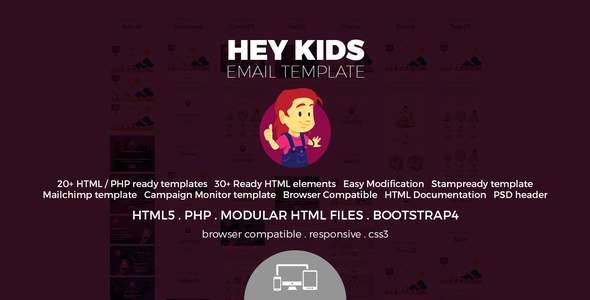 Hey Kids - Email Template            TFx Austen Ubirajara