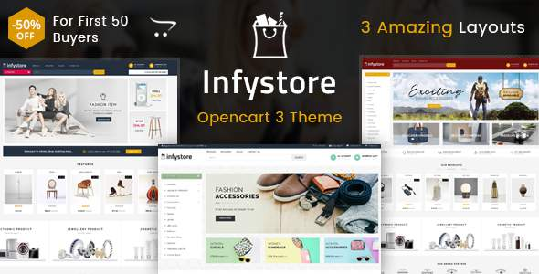 Infystore – Multipurpose OpenCart 3 Theme            TFx Toros Garey