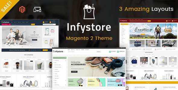 Infystore – Responsive Magento 2 Theme            TFx Kolby Ahmad