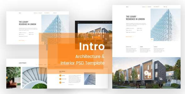Intro - Architecture & Interior PSD Template            TFx Carleton Kelcey