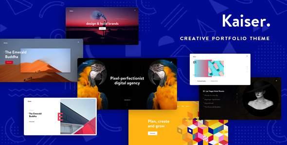 Kaiser – A Creative Portfolio WordPress Theme            TFx Angus Al