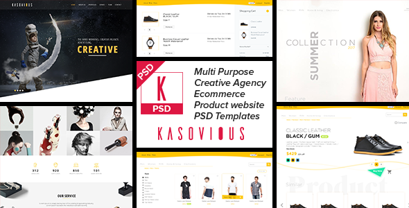 Kasovious Creative eCommerce and Product Website            TFx Everette Ukhaq