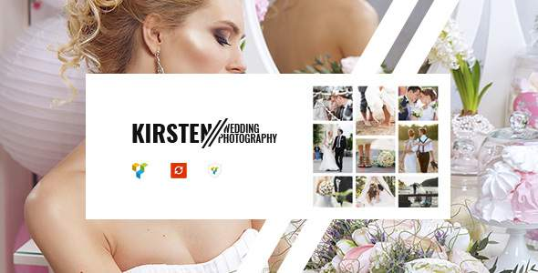 Kirsten - Clean Wedding Photography Theme            TFx Vivian Tyler