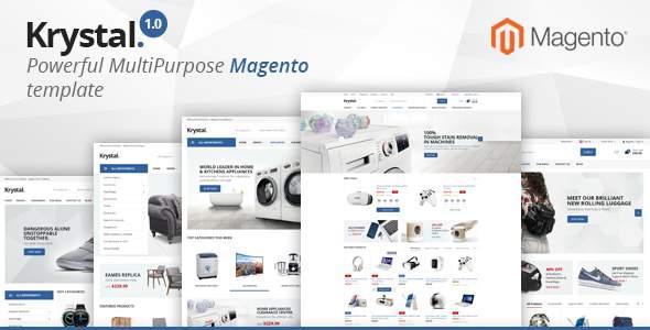 Krystal - Multipurpose Magento 2 Theme            TFx Barrett Garegin