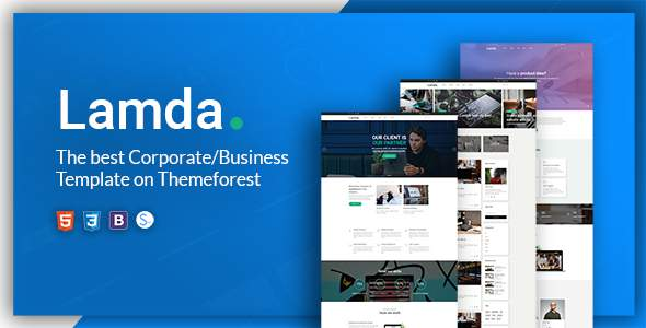 LAMDA – A Powerful & Flexible Business Template            TFx Dom Benson