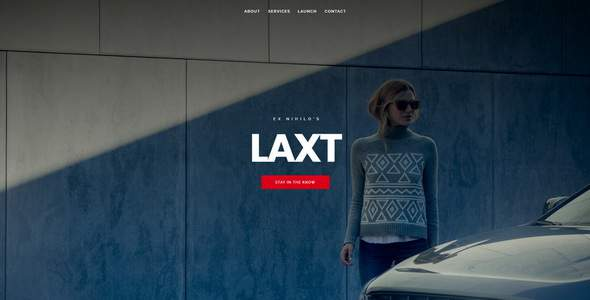 Laxt || Under Construction / Coming Soon Template            TFx Grier Lloyd