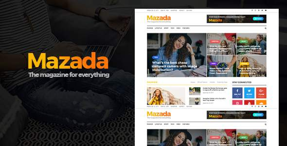 Mazada - Magazine WordPress Theme            TFx Baz Walt