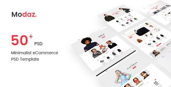 Modaz | Minimalist eCommerce PSD Template            TFx Minato Garland