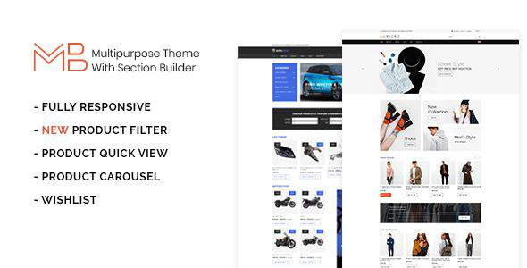 Multibuy - Multipurpose Shopify Theme with Section Builder            TFx Berry Elihu