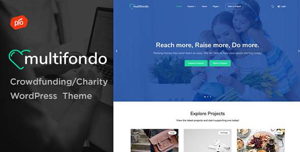 Multifondo - Crowdfunding & Charity WordPress Theme            TFx Abdullah Garth