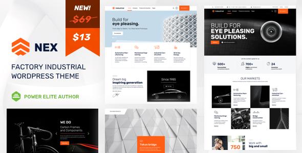 Nex - Factory & Industrial WordPress            TFx Catahecassa Gerard