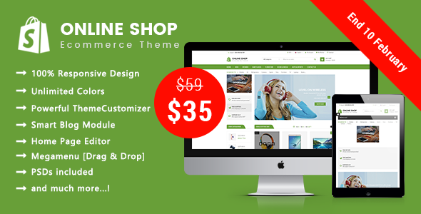 Online Shop - Shopping Responsive Prestashop 1.7 Theme            TFx Amias Cuthbert